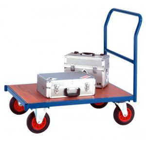 HEAVY DUTY PLATFORM TRUCK ONE END TUBE