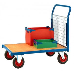 HEAVY DUTY PLATFORM TRUCK  – ONE END