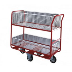 ORDER PICKING TROLLEY LARGE BASKETS
