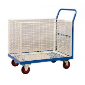 ORDER PICKING TROLLEY SINGLE BASKET