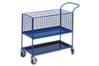 ORDER PICKING TROLLY SINGLE BASKET ORDER PICKER
